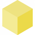Yellow Blockspot.io Cube