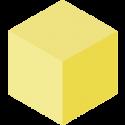 Yellow Blockspot.io Cube
